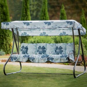 Replacement cushions with canopy for garden swing 170 cm Parma / Milano A051-06LB PATIO