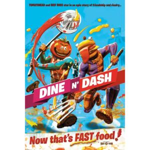 Poster Fortnite - Dine and Dash, (61 x 91.5 cm)