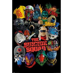 Poster The Suicide Squad - Icons, (61 x 91.5 cm)
