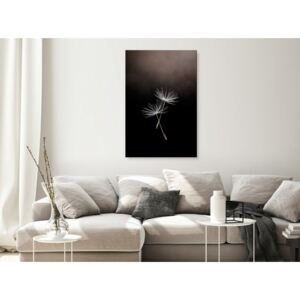 Canvas Print Other Flowers: Floating Moment (1 Part) Vertical