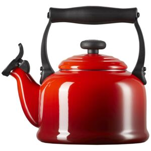 Le Creuset Traditional Fixed Whistle Kettle Cerise