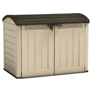 Keter Store it Out Ultra Outdoor Garden Storage Shed - Beige & Brown - 2000L
