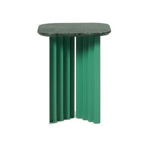 Plec Small End table - / Marble - 37 x 37 x H 45 cm by RS BARCELONA Green