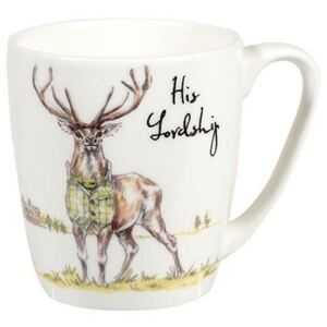 Churchill China Country Pursuits His Lordship Stag Mug