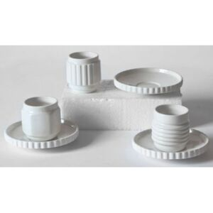 Machine Collection Espresso cup - / Set of 3 + saucers by Diesel living with Seletti White
