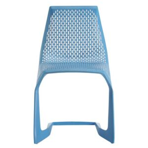 Myto Stacking chair - Plastic by Plank Blue