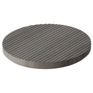 Groove Tablemat - / Large - Ø 21,6 cm by Muuto Grey
