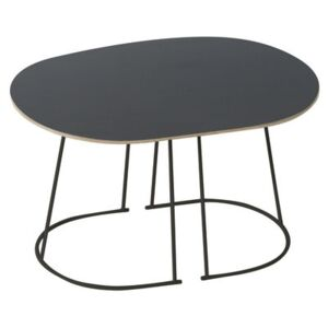 Airy Coffee table - / Small - 68 x 44 cm by Muuto Black