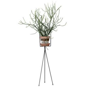 Plant Stand LARGE Flowerpot stand - / For flowerpot - H 65 cm by Ferm Living Black