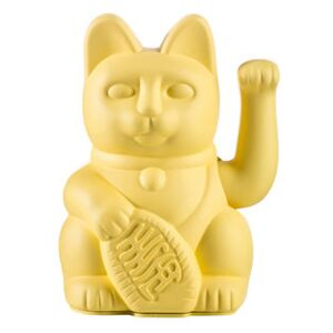 Lucky Cat Figurine - / Plastic by Donkey Yellow