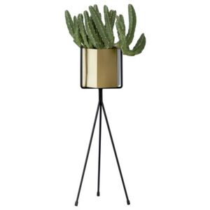 Plant Stand SMALL Flowerpot stand - / For flowerpot - H 50 cm by Ferm Living Black
