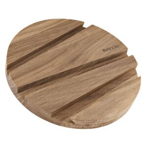 SmartMat Tablemat - / Smartphone & tablet stand - Wood by Eva Solo Natural wood