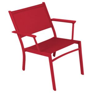 Costa Low armchair by Fermob Red