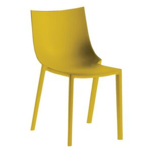 Bo Stacking chair - Plastic by Driade Yellow