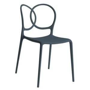 Sissi Stacking chair - Outdoor by Driade Grey