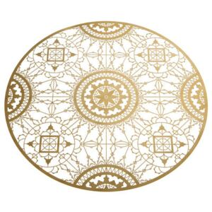 Italic Lace Tablemat - Trivet - Ø 34 cm by Driade Kosmo Gold