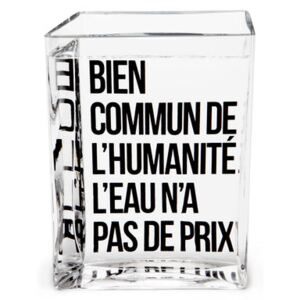 La Lame d'Eau Carafe - by Philippe Starck / 50 cl by Made in design Editions Transparent