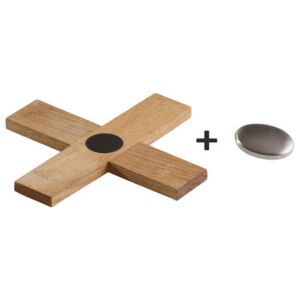 Tablemat - Trivet & Anti-odor stainless steel soap by Malle W. Trousseau Natural wood