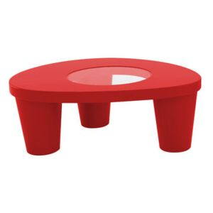 Low Lita Coffee table - Low table by Slide Red