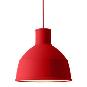 Unfold Pendant - Silicone by Muuto Red