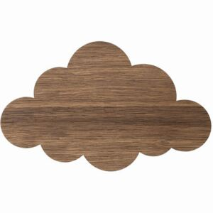 Cloud Wall light with plug by Ferm Living Natural wood