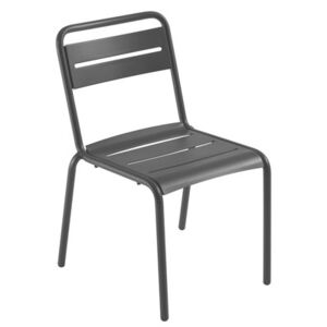 Star Stacking chair - Metal by Emu Black