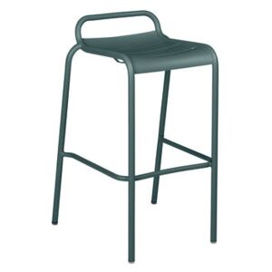 Luxembourg High stool - / Aluminium - H 78 cm by Fermob Grey