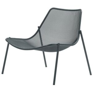 Round Low armchair by Emu Metal