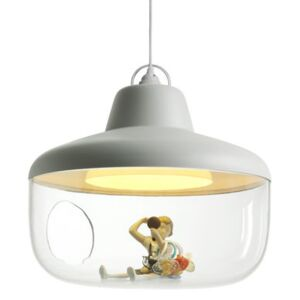 Favourite things Pendant - / Show case by ENOstudio White