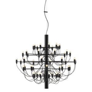 2097 Pendant - / 50 frosted bulbs INCLUDED - Ø 100 cm by Flos Black
