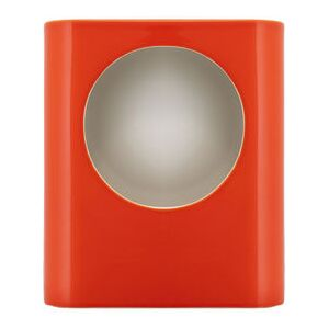 Signal Large Table lamp - / Ceramic - Hand-made / H 35 cm by raawii Orange