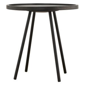 Juco Coffee table - Ø 50 x H 50 cm by House Doctor Black