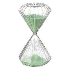 Romantic Egg timer - / 5 minutes - H 11 cm by Bitossi Home Green