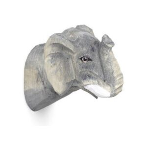 Animal Hook - / Elephant - Hand sculpted by Ferm Living Multicoloured