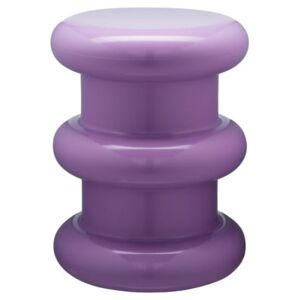 Pilastro Stool - H 46 x Ø 35 cm - By Ettore Sottsass by Kartell Purple
