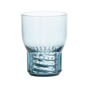 Trama Small Glass - / H 11 cm by Kartell Blue