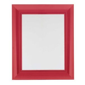 Francois Ghost Wall mirror - Large - 88 x 111 cm by Kartell Red