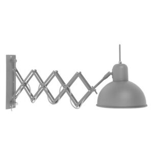 Aberdeen Wall light with plug - / Extensible arm - Adjustable by It's about Romi Grey