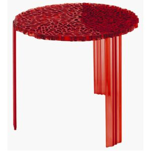 T-Table Alto Coffee table - H 44 cm by Kartell Red