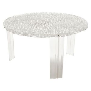 T-Table Basso Coffee table - H 28 cm by Kartell Transparent