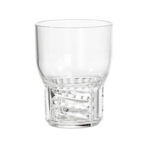 Trama Small Glass - / H 11 cm by Kartell Transparent
