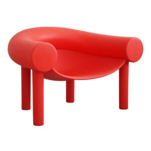 Sam Son Low armchair - Plastic by Magis Red