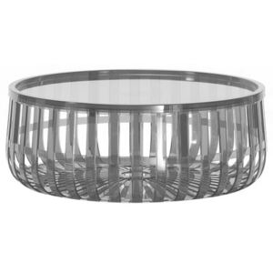 Panier Coffee table by Kartell Grey