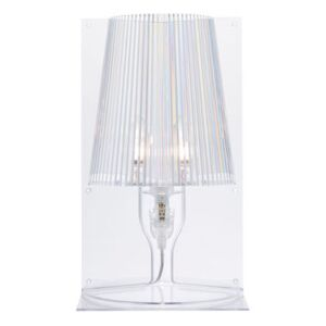 Take Table lamp by Kartell Transparent
