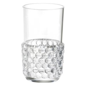 Jellies Family Glass by Kartell Transparent