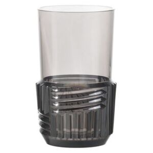 Trama Large Glass - / H 15 cm by Kartell Grey