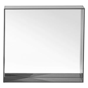Only me Wall mirror by Kartell Black