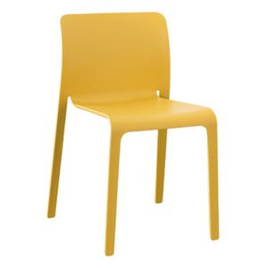 First Chair Stacking chair - / Plastic by Magis Yellow