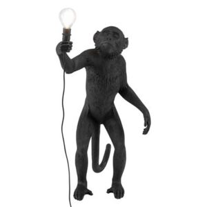 Monkey Standing Table lamp - Outdoor / H 54 cm by Seletti Black