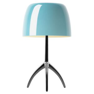 Lumière Grande Table lamp - With dimmer - H 45 cm by Foscarini Blue/Green